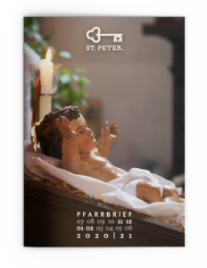 St. Peter, Pfarrbrief Dezember 2020 Cover